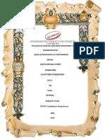 Informe de La Auditoria de Costos y Gastos
