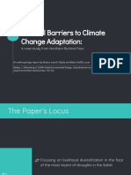 Cultural Barriers to Climate Change Adaptation (Lunor and Rubia)