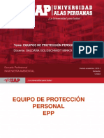 Semana 6. Equipos de Protección Personal