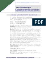 ESP. TEC. PLANTA DE TRATAMIENTO DE AGUAS RESIDUALES1.doc