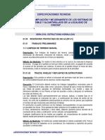 ESP. TEC. SISTEMA DE AGUA POTABLE - estructuras hidraulicas.doc