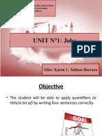 Unit N°1 Jobs