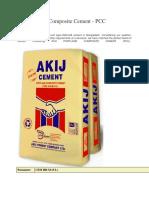 Akij Portland Composite Cement