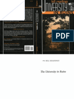 0674929535 - Readings - The University in Ruins