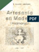 1987 Mary Lujan Vargas Artesanía en Madera Huamanga