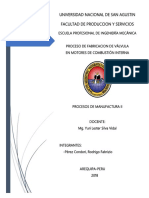 Procesos de Fabricacion de Valvulas