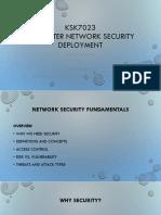 KSK7023 Network Security