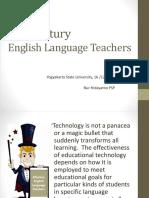 (Dr. Putro) 21st Century Language Teachers