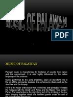 Music of Palawan (REPORT)