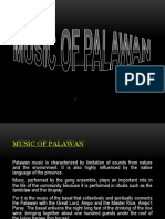 Music of Palawan (REPORT)