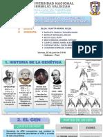 2. Estructura Molecular de Genes y Cormosomas, Cariotipos y Patogenias