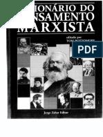 Dicionário-do-pensamento-marxista - Ed. Por Tom Bottomore
