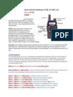 Programación Fácil Del Baofeng UV-5R