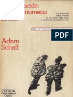 Schaff Adam - La Alienacion Como Fenomeno Social