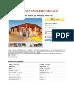Carpas y Casas Prefabricadas