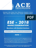 EC Mains-2018 Paper-1 Solutions