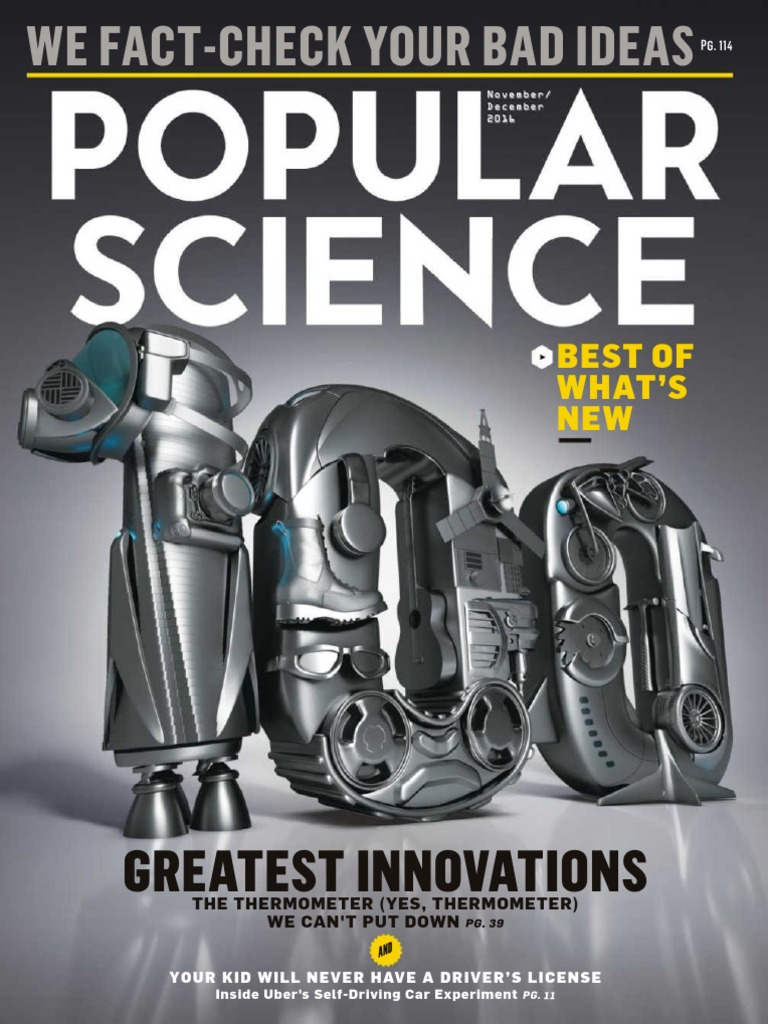Popular Science - December 2016 Vk Com Stopthepress