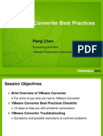 Converter Best Practice VMworld 2007(PS IP50 287756 166-1 FIN v3)