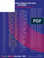 ICC World Cup Schedule Portrait With Prices