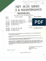Mooney Service Manual