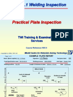 CSWIP Welding Inspection Plate Section Practical Copy