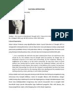 Cultural Deprivation- Sosiologi Budaya