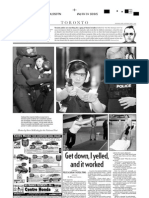 Get down, I yelled, and it worked, A10, National Post, May 7, 2005