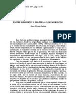 Jean-Pierre Dedieu - Entre religión y política, los moriscos