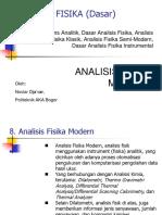 07-Analisis Fisika Modern