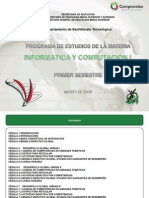 INFORMÁTICA Y COMPUTACIÓN I