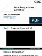 Math for Game Inverse Kinematics