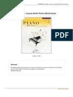 Read 9781616770907 Level 4 Lesson Book Piano Adventures