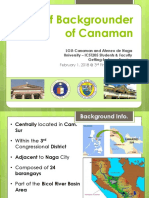 Brief Background of Canaman