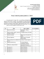 PV 1 Pe 2012 Donatie Carti Penitenciarl Tichilesti