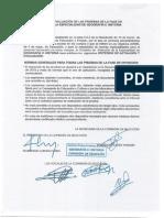 Criterios de Evaluacion. Extremadura. 2018