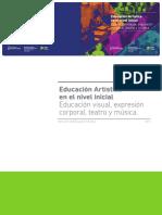 EducacionArtisticaEnElNivelInicial