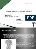 prezentare cancer pancreatic
