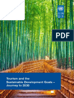 Tourism and the Sustainable Development Goals - Journey to 2030 - UNWTO