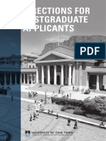 UCT Pg Applicant Guide