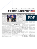 July 11 - 17, 2018  Sports Reporter