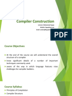 compiler construction first chapter