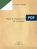 Comparación Portugués Español