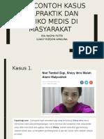 contoh kasus malpraktek dan resiko medis di masyarakat