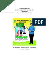 contoh PROFIL POSYANDU .doc