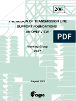 The Design of Transmission Line Support Foundations