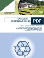 Gerencia Ecologica - Unidad 1 y 2
