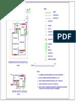 Plumbing Layout for a Single Storey housing