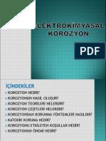 ELEKTİROKİMYASA KOROZYON-2