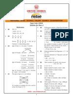 Class 3 - NSTSE 2017 Set B Solutions 03