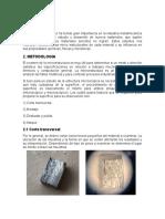 Caracterización Metalografia aluminio